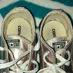 7fe03399cca7 Converse Shoes - Toddler girls rose gold converse 10 1 2